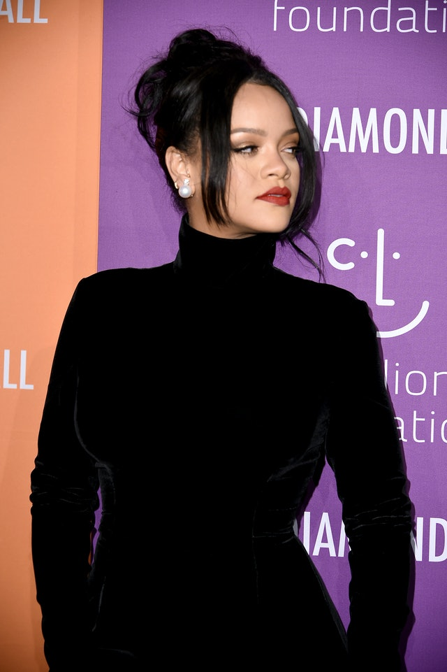Night-out hairstyles inspired by Rihanna's style