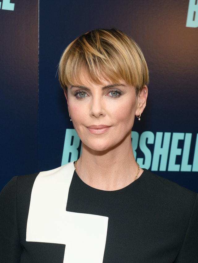 Night-out hairstyles inspired by Charlize Theron