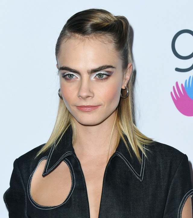 Night-out hairstyles inspired by Cara Delevingne