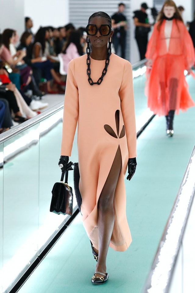 Gucci Spring 2020 cut-out trend