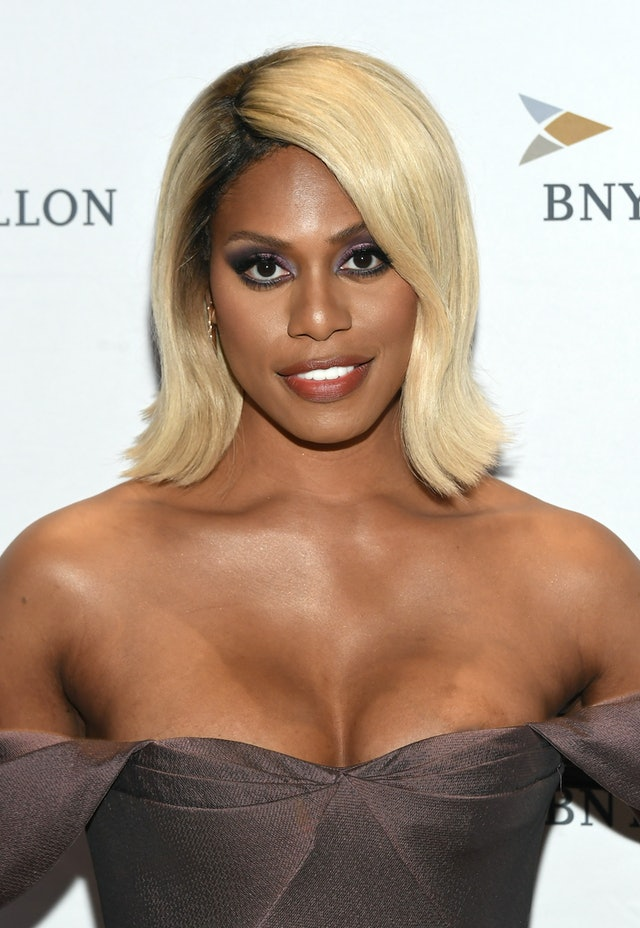 The fall 2019 smoky eyeshadow trend Laverne Cox endorses