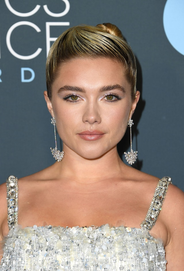 Florence Pugh at the 2020 Critics' Choice Awards is one of the best beauty looks
