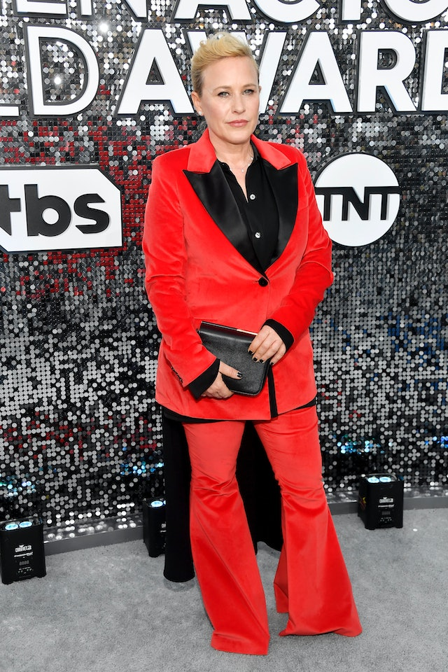 Patricia Arquette wore pants to the 2020 SAG Awards