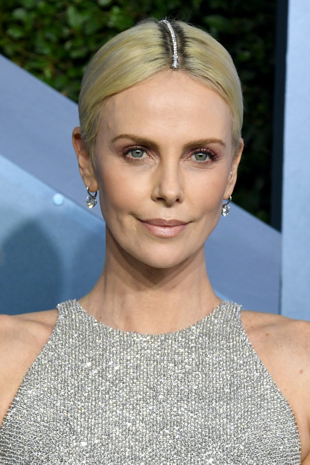 Charlize Theron was one of the top 2020 SAG Awards beauty looks