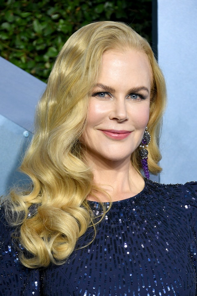Nicole Kidman was one of the top 2020 SAG Awards beauty looks of the night