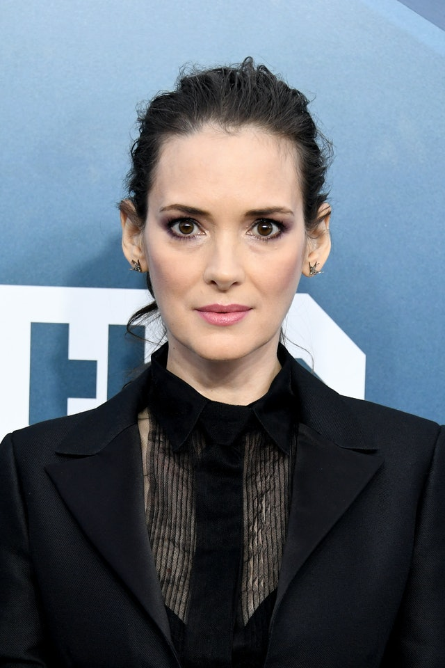 Winona Ryder was one of the top 2020 SAG Awards beauty looks of the night