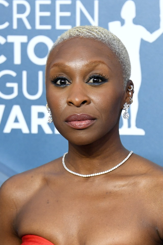 Cynthia Erivo was one of the top 2020 SAG Awards beauty looks of the night