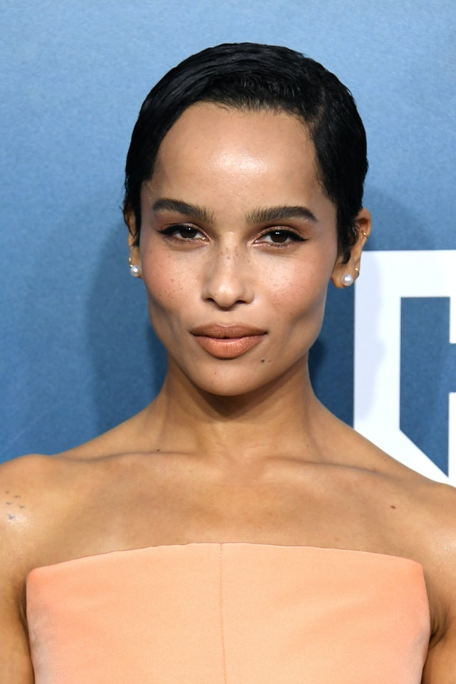 Zoe Kravitz was one of the top 2020 SAG Awards beauty looks of the night