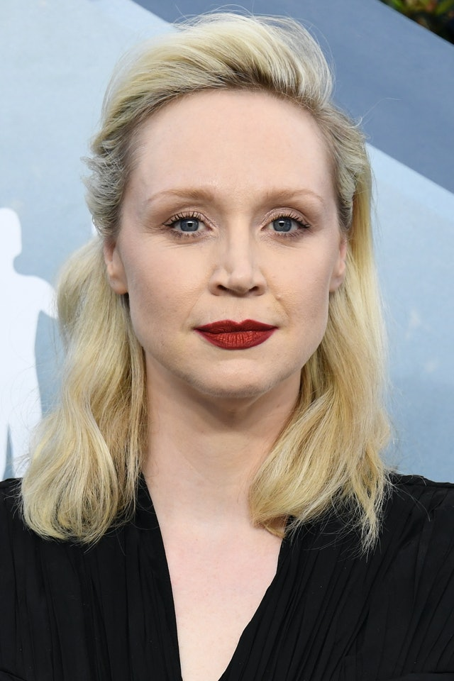 Gwendoline Christie was one of the top 2020 SAG Awards beauty looks of the night
