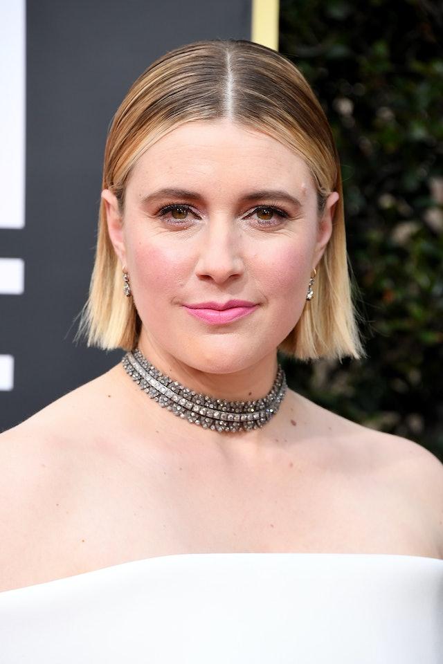 Golden Globes 2020 beauty looks featuring Greta Gerwig