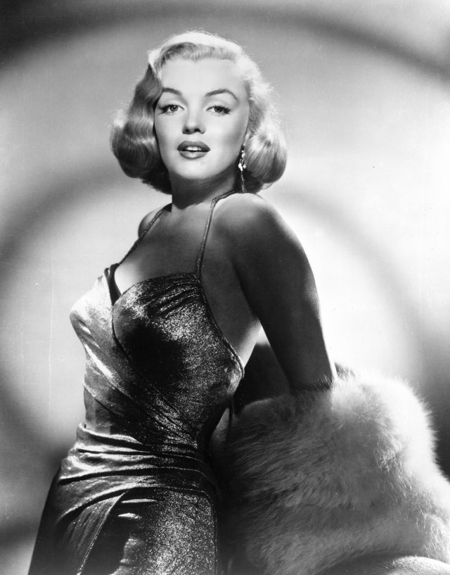Marilyn Monroe's golden tresses were always styled impeccably.