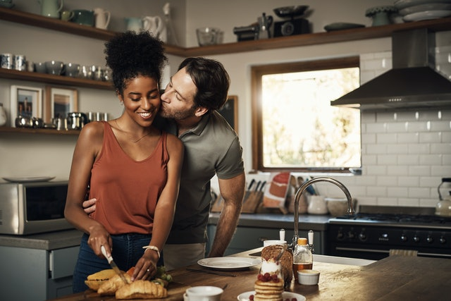 Cooking for your partner is a gift you can give if their love language is acts of service