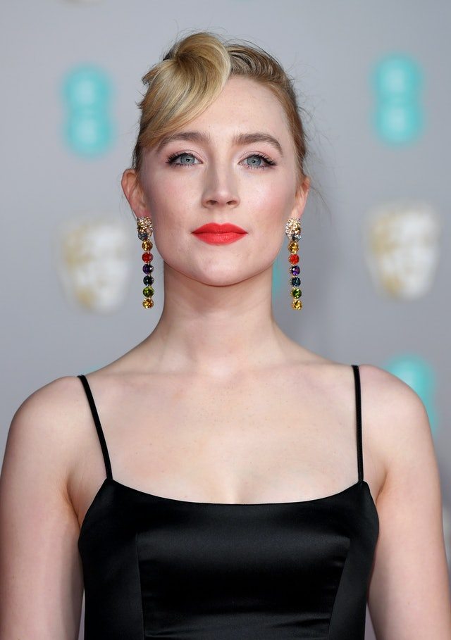 Saoirse Ronan and other celebrities wore coral lipstick to the 2020 BAFTAs