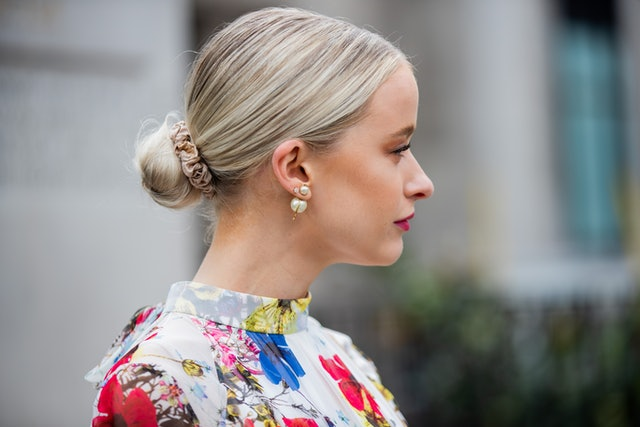 Spring 2020 Hair Accessory Trend: Silk Scrunchies.
