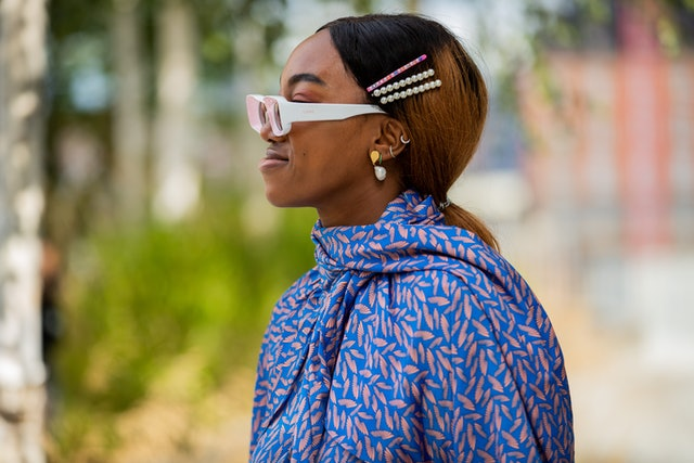 Spring 2020 Hair Accessory Trend: Pearl Hair Pins.