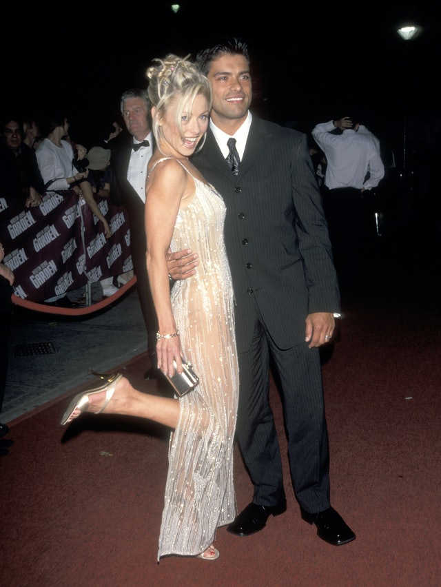 Kelly Ripa's bangs in the '90s