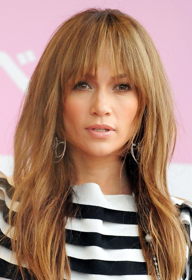 J.Lo's choppy bangs were one of her best haircuts of all time