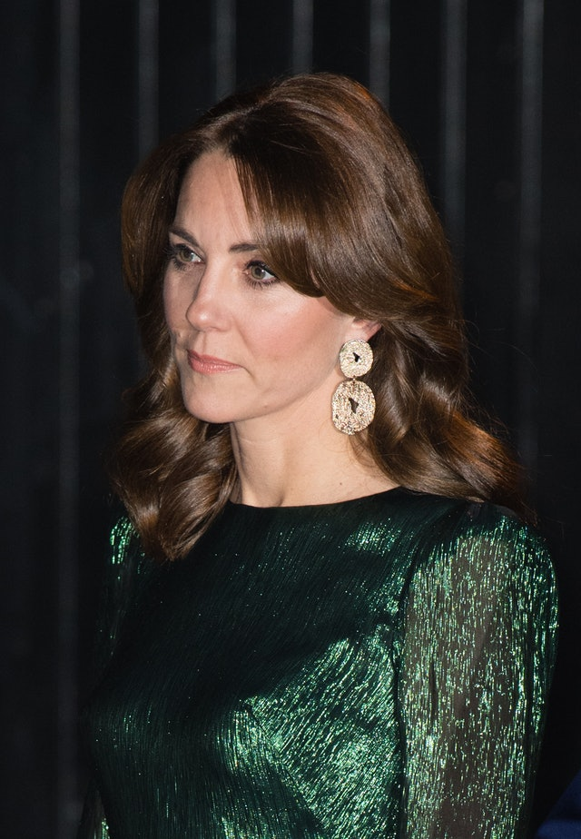 Kate Middleton's New Curtain Bangs