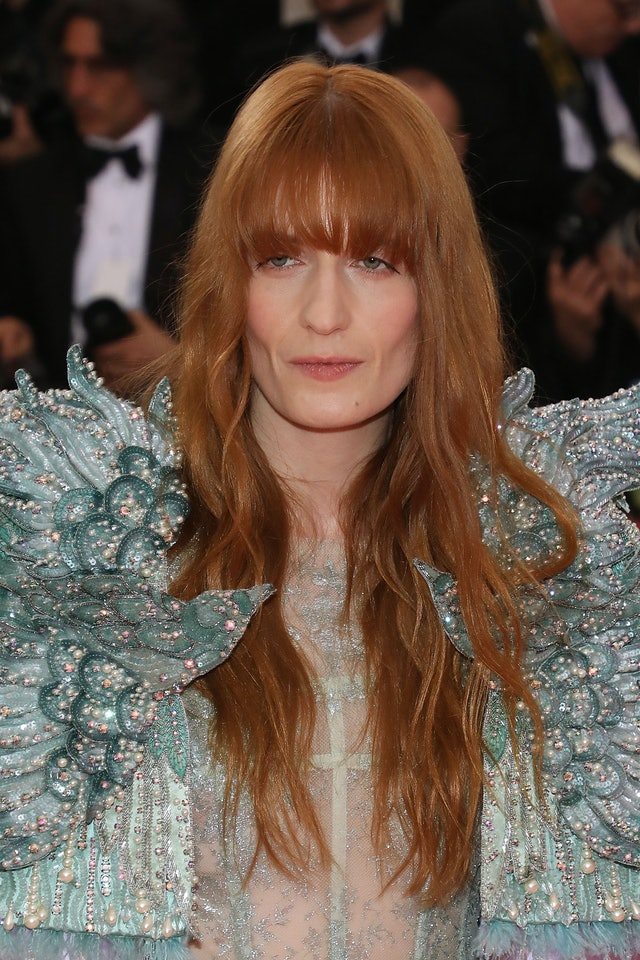 The best Met Gala beauty looks: Florence Welch.