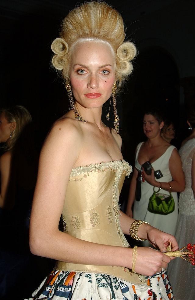 The best Met Gala beauty looks: Amber Valletta.