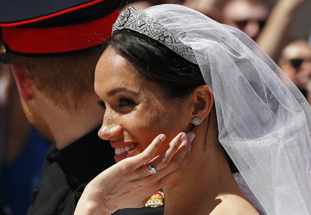 Meghan Markle wore the famous Essie Ballet Slippers shade on her wedding day