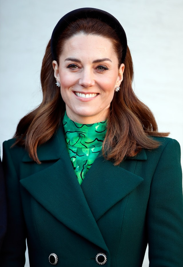 Kate Middleton's headband is an easy hairstyle for work