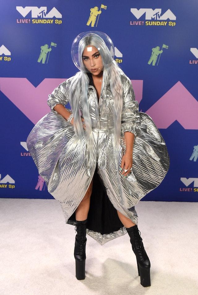 Lady Gaga debuted gray hair at the 2020 MTV Video Music Awards