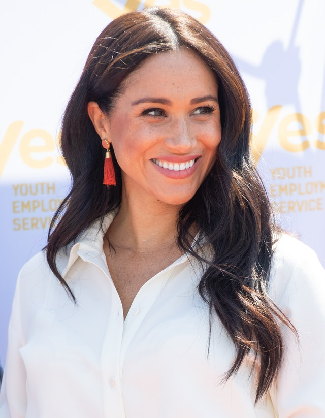 Markle rocked a gorgeous matte pink lip during her royal tour of South Africa.