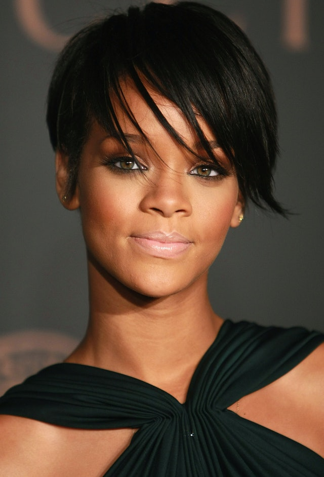 RIhanna's pixie cut is an example of a major trend in the 2000s.