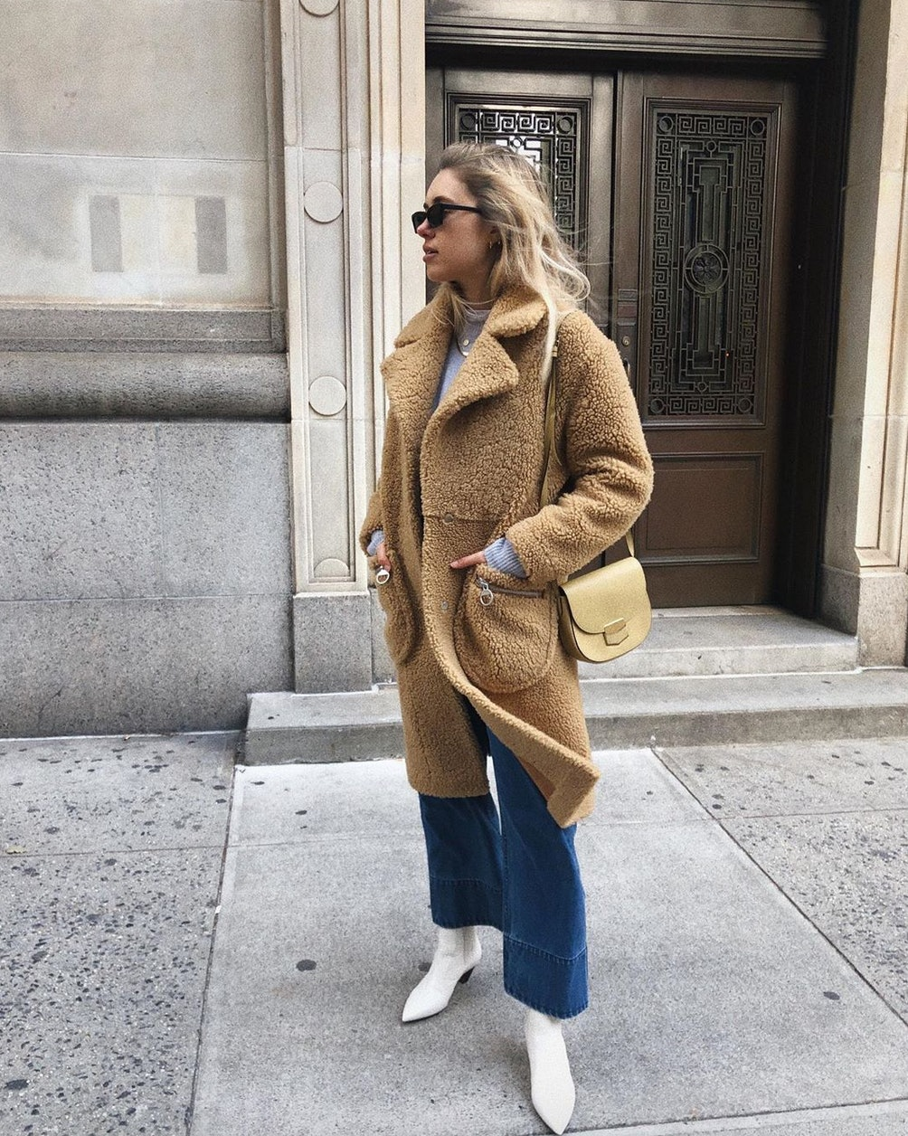 street style white boots