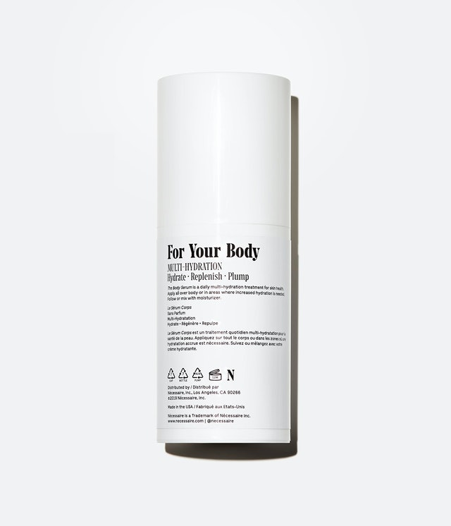 Back of Nécessaire's The Body Serum