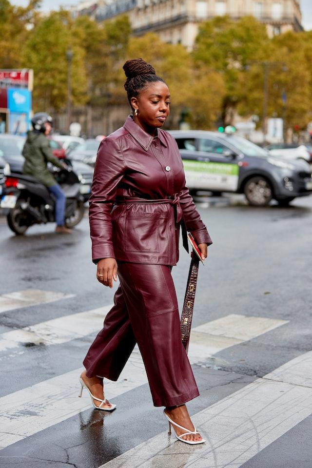 Lindsay Peoples street style in Paris