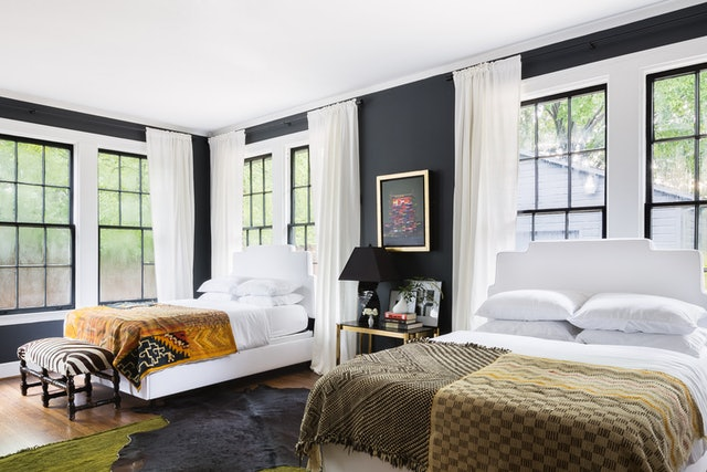 2020's paint color trends include warm, tonal shades