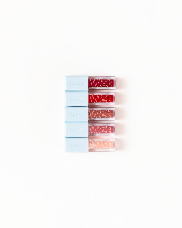 All five shades of Kosas' new Wet Lip Oil Gloss