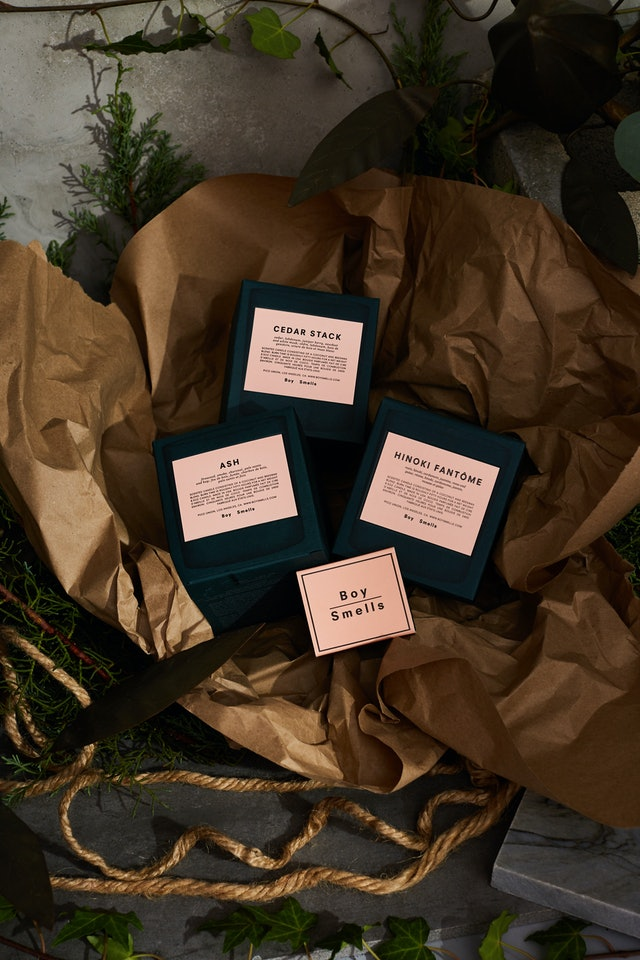 Boy Smells' new Holiday 2019 candles come in limited-edition packaging and with a new scent for stylish gifting.