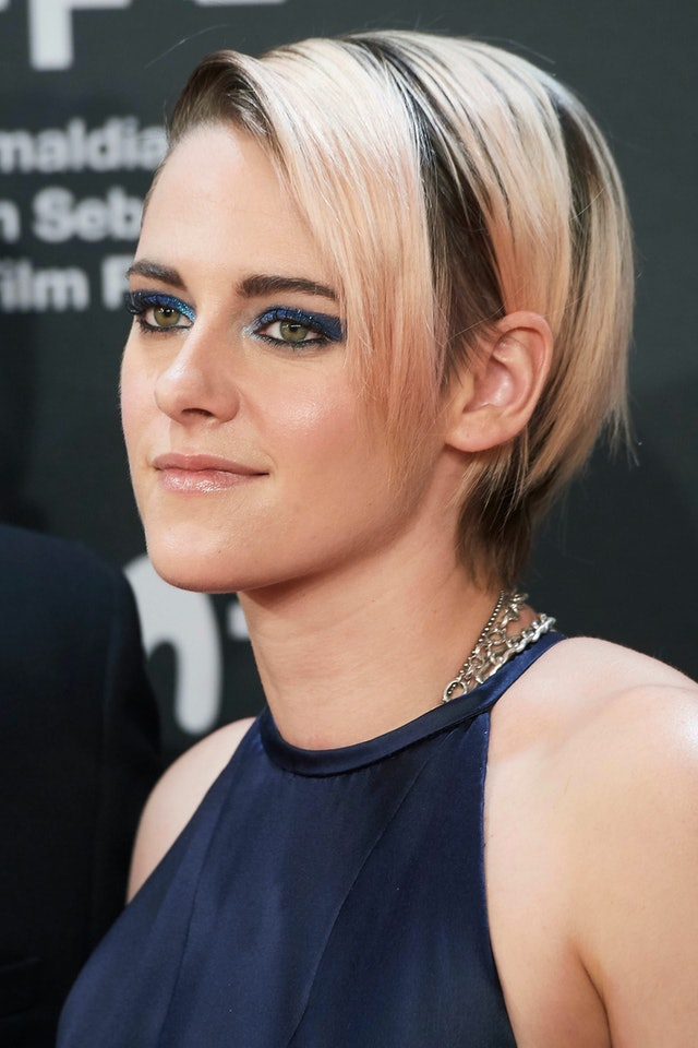 Fall 2019 hair colors like Kristen Stewart's trendy pink hair