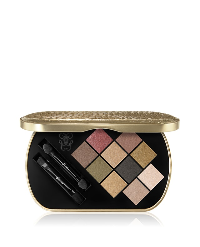 Guerlain's holiday 2019 Goldenland Collection eyeshadow palette shades
