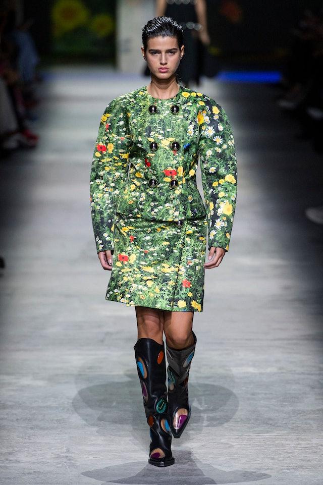 Rainforest trend for Spring 2020 at Christopher Kane