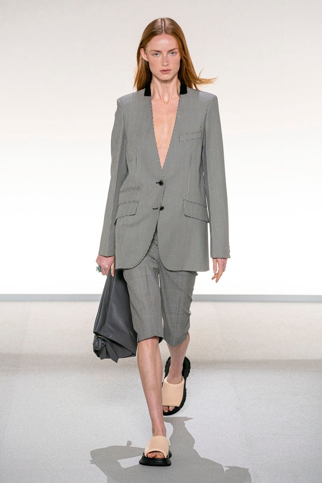 shorts suit trend for spring 2020 at Givenchy