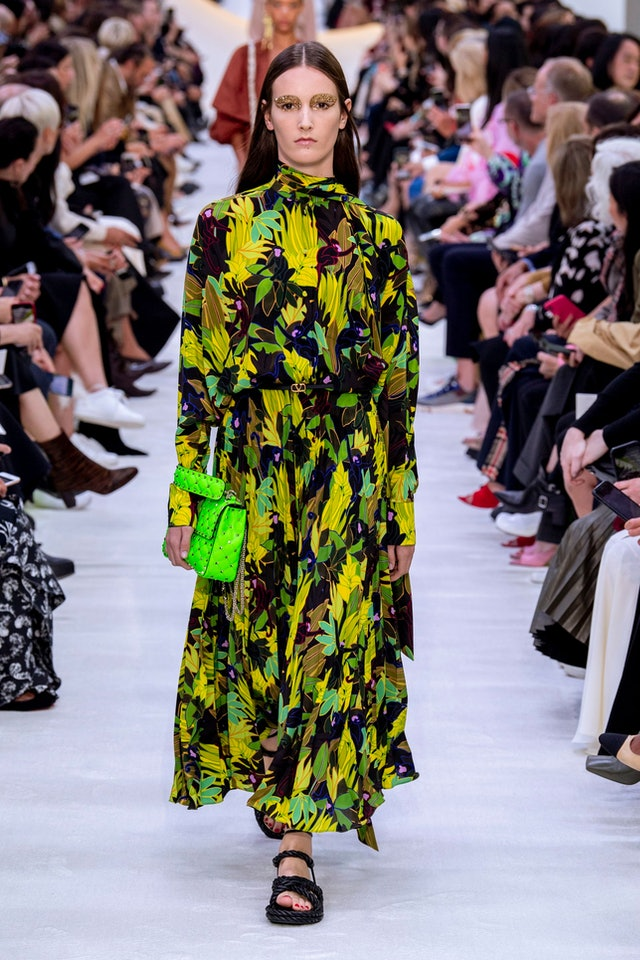 Rainforest trend for Spring 2020 at Valentino