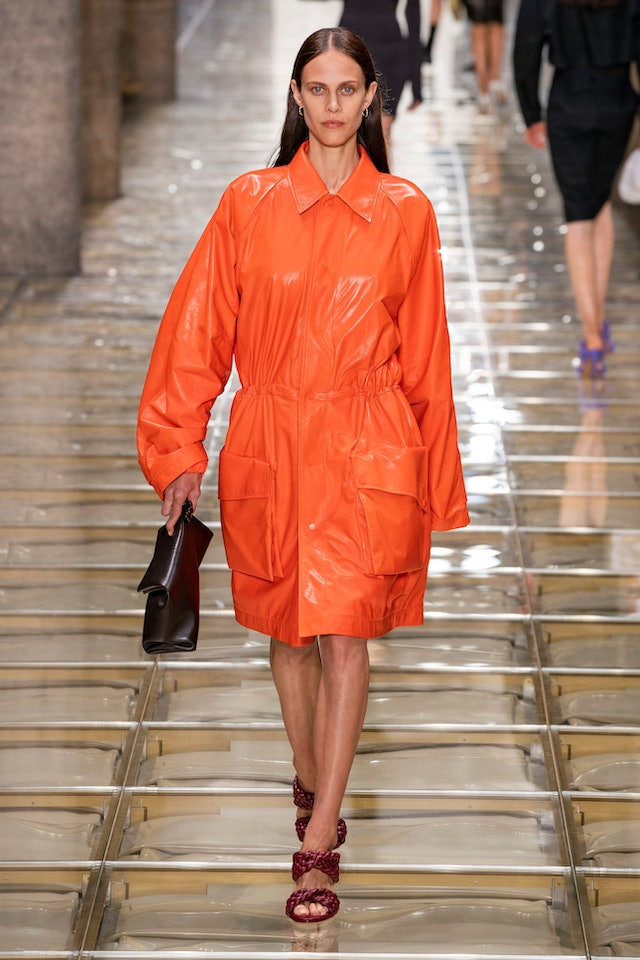 Spring 2020 Orange trend at Bottega Veneta