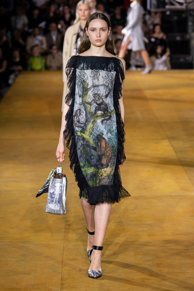 Rainforest trend for Spring 2020 at  Burberry