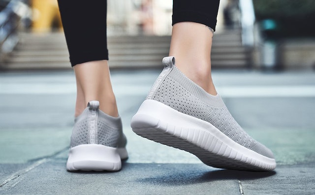 """These knitted slip-ons are so great, they've won over thousands of fans on Amazon who say they're like """"walking on marshmallows."""""""
