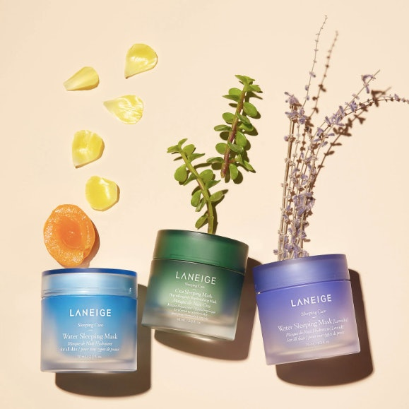 Laneige's Cica Sleeping Mask is one of many of the brand's cult-favorite sleeping masks