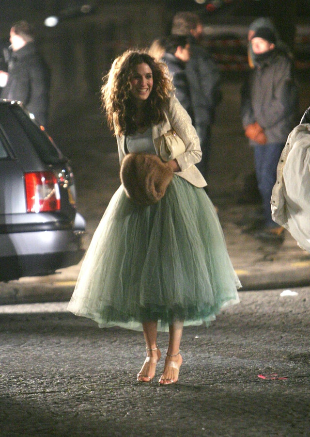 carrie bradshaw tulle