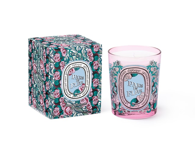 diptyque's new Paris En Fleur Collection smells like Paris in springtime.