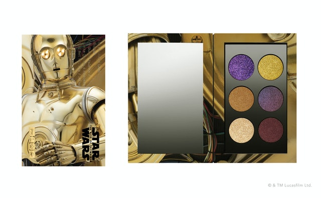 MTHRSHP: Galactic Gold Eyeshadow Palette from Pat McGrath Labs' Star Wars: The Rise Of Skywalker collection
