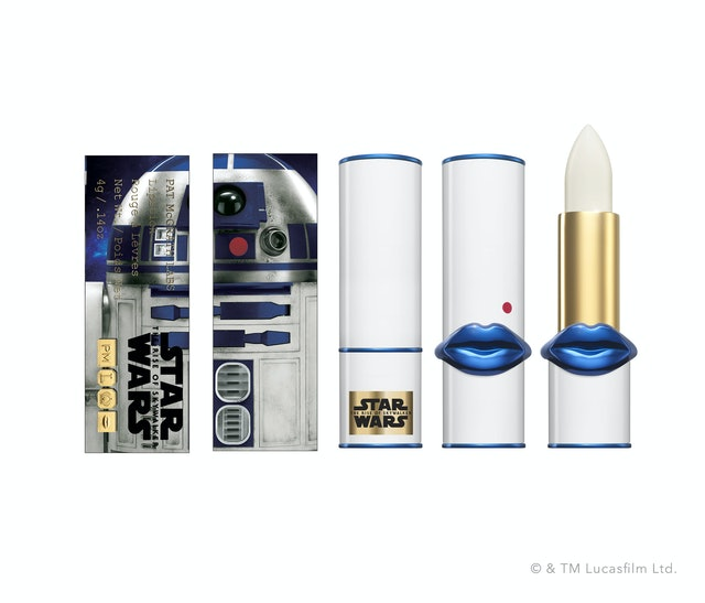 R2-D2 Lip Fetish Lip Balm from Pat McGrath Labs' Star Wars: The Rise Of Skywalker collection
