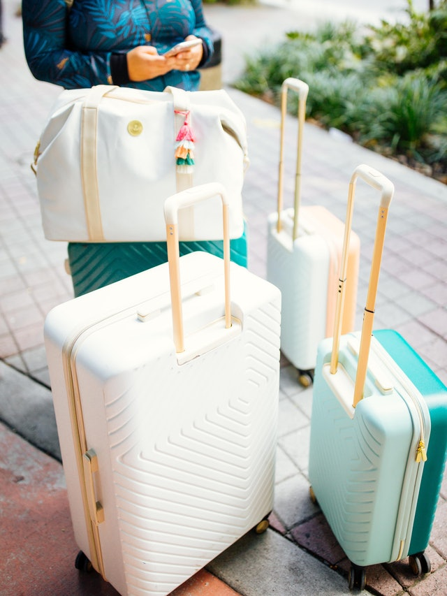 Target S New Jungalow Luggage Collection Will Upgrade Your Travel Essentials For Less Than 140