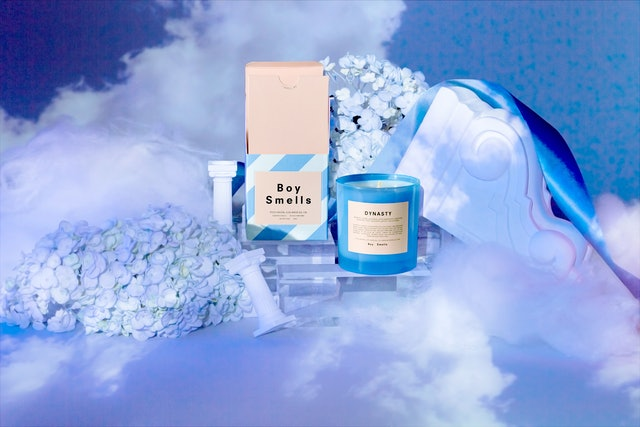 Boy Smells' new Love Collection reissued a previous best-selling scent, Dynasty